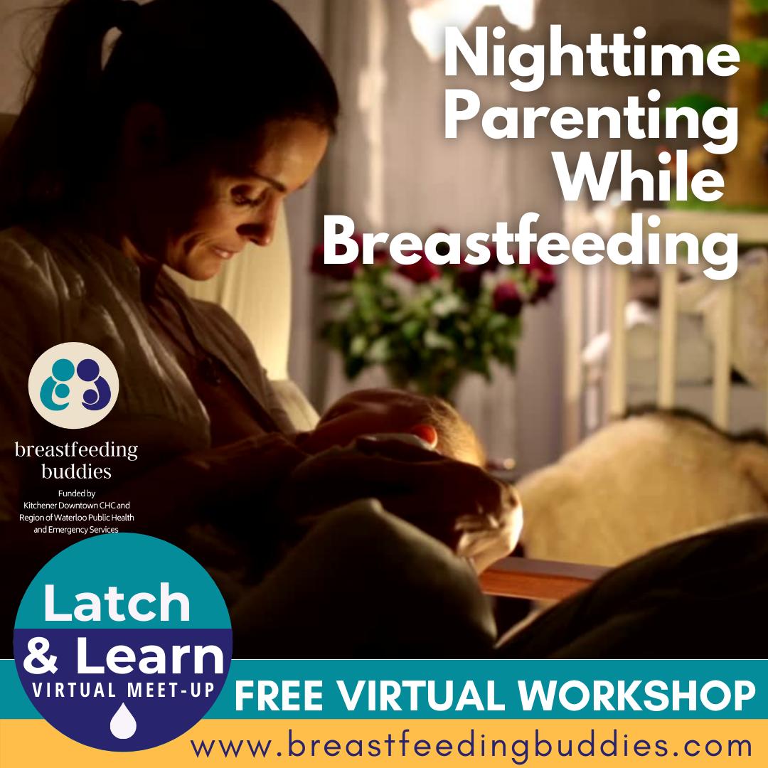 Parent Breastfeeding Baby in the Dark